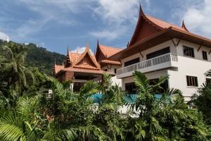 kata, private, pool, Villa